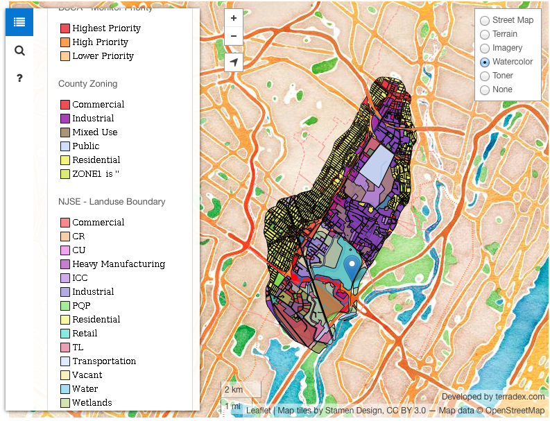 Custom Web Services And Mapping Our Services Terradex - Custom mapping services